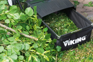 VIKING GE 150 Shredder - perfect for reducing garden waste to up to 75% of its original size