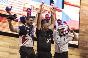 STIHL TIMBERSPORTS WC 2016 - winners podium