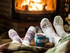STIHL fireplace cosy feet
