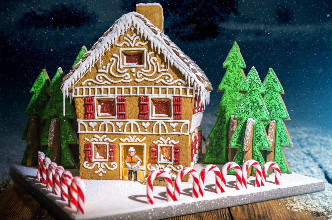 Richard Burr STIHL Gingerbread House