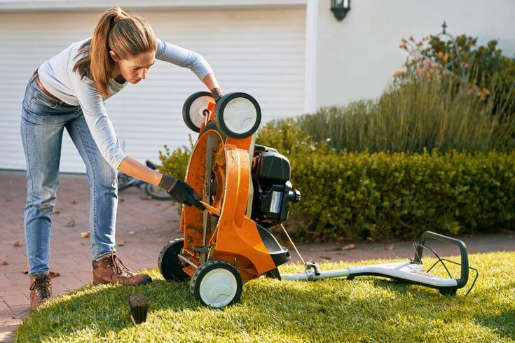 STIHL RM 448 lawn mower