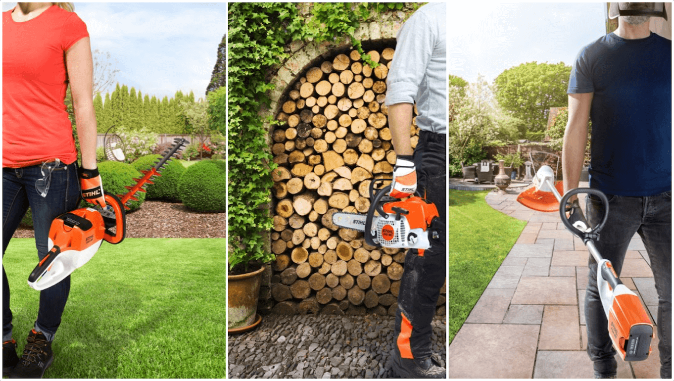STIHL - Finish your garden, like a pro. Hedge trimmers, chainsaws, grass trimmers and more.