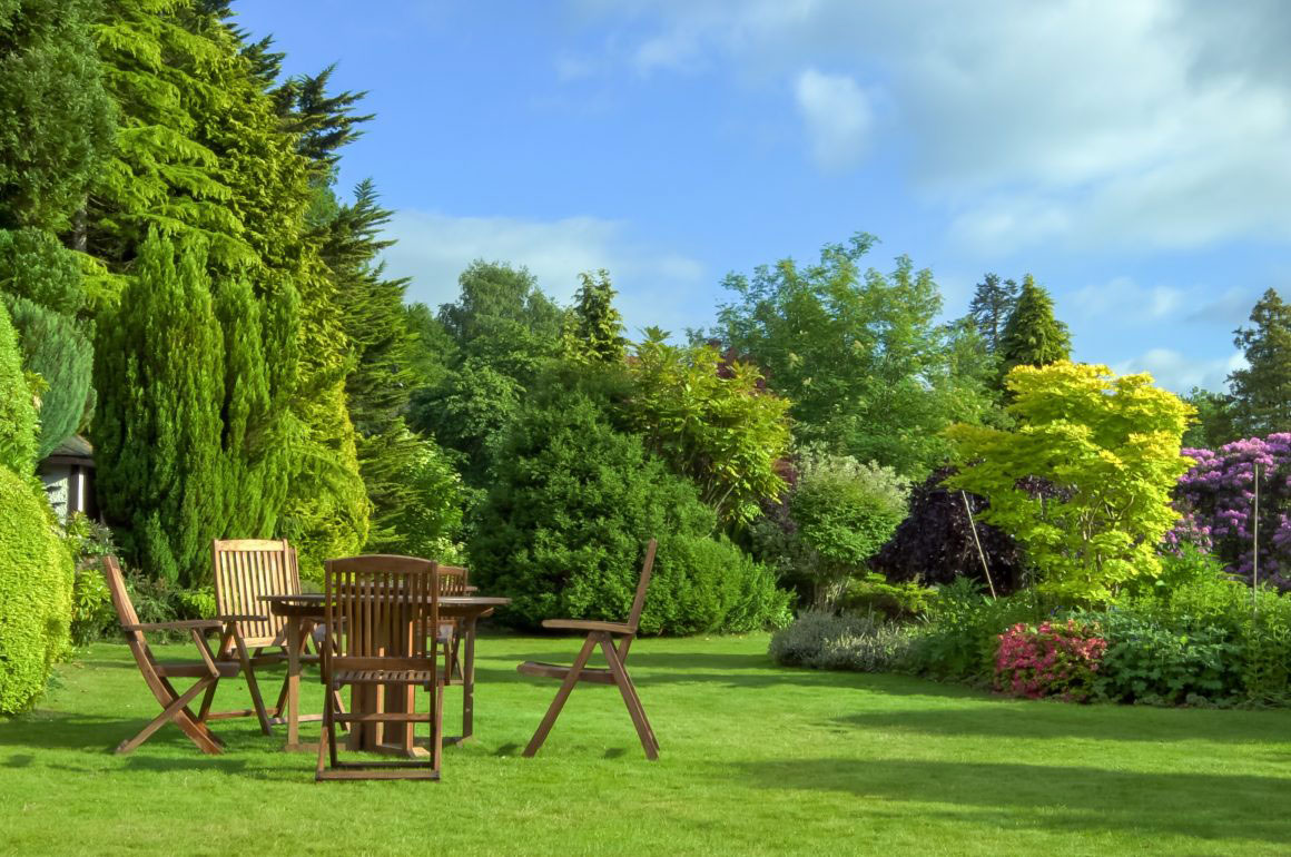 Typical English garden