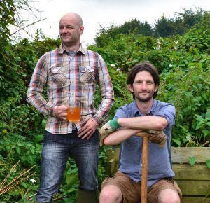 STIHL & Two thirsty gardeners