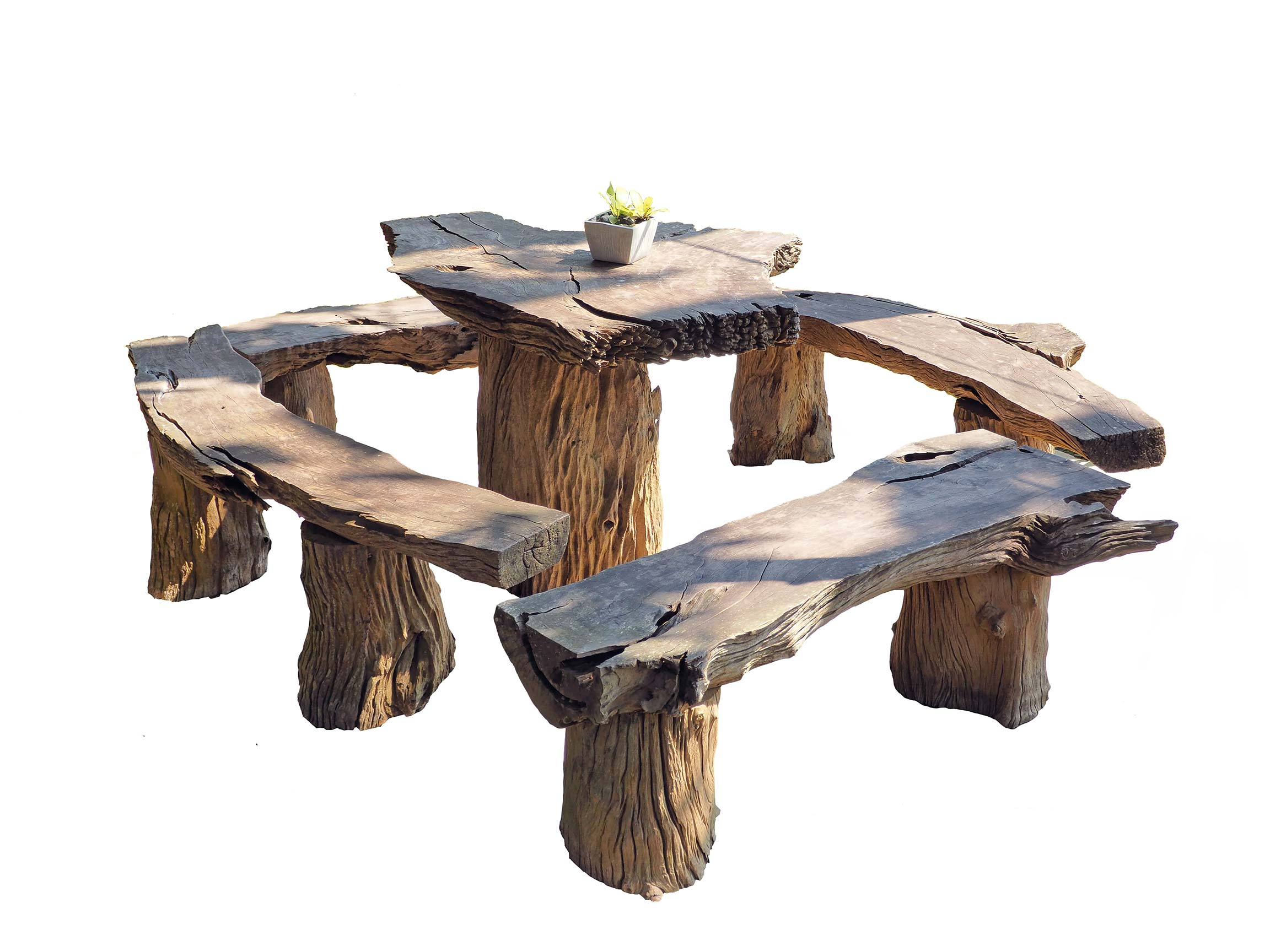 outdoor wooden DIY furniture