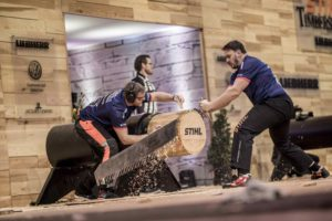 Team GB at the STIHL TIMBERSPORTS World Championship