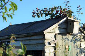 STIHL garden shed felt roof