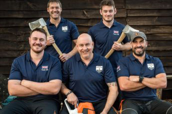 STIHL Timbersports Team GB photo