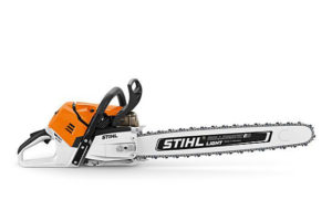 The New STIHL MS500i Chainsaw