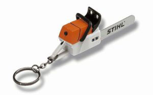 Chainsaw Keyring Christmas Gift