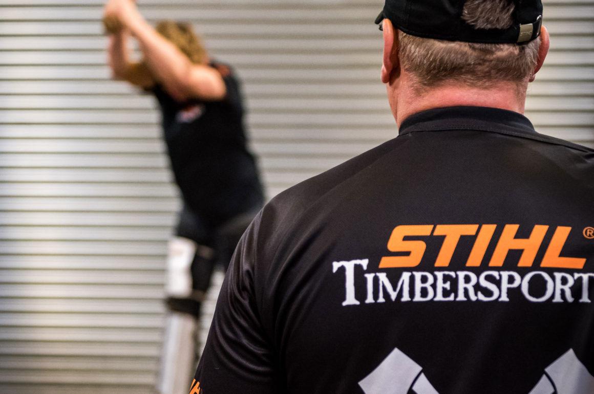 STIHL TIMBERSPORTS newcomers training camp