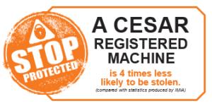 Datatag Cesar Registered Machine