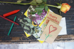 Personalised Seeds and Seed Envelopes For Valentines Day