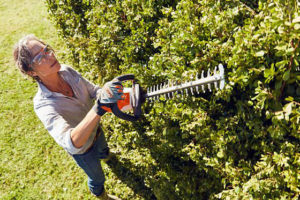 STIHL personal protective equipment for hedge trimmer