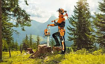 STIHL chainsaw personal protective equipment