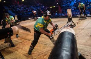 Team Australia at STIHL Timbersports World Championships 2017