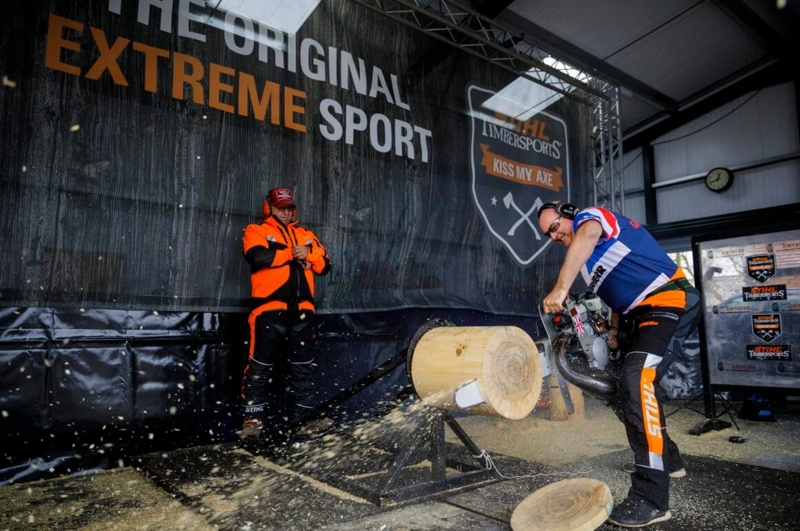 Be part of the action at the TIMBERSPORTS® World