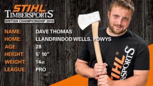 Dave Thomas STIHL Timbersports Bio