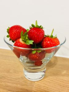 Home-Grown Strawberries