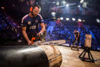 Team USA in the 2017 timbersport world championship
