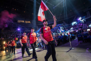 Team Canada Arrive