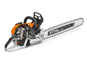 Inner Workings Of STIHL MS500i Chainsaw