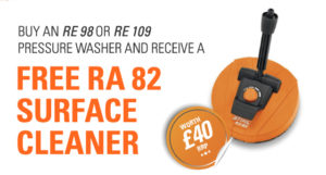 Free RA 82 Surface Cleaner Offer