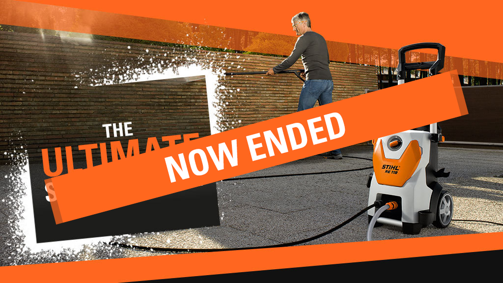 the STIHL pressure washer promotion has ended