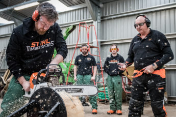 TIMBERSPORTS® Newcomers' Training Camp in Gloucestershire