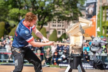 rookie breaks the TIMBERSPORTS records