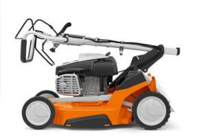 Folded RM 655 Lawn Mower