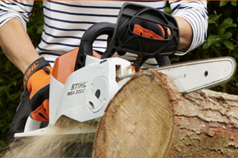 STIHL chainsaw promotion