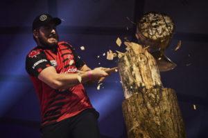 ben cumberland standing block challenge timbersports
