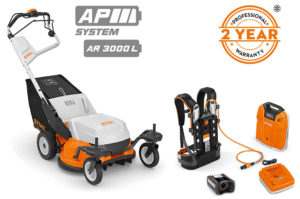 RMA 765 V professional cordless lawn mower