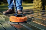 clean your patio with the RA82 cleaning attachment
