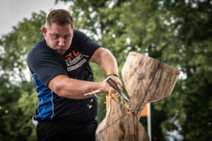 Rob Chatley Standing Block Chop 2019