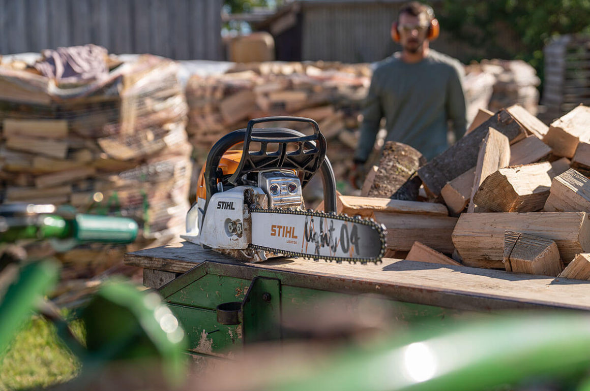 MS 271 Chainsaw With New Guide Bar