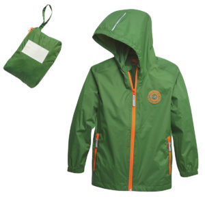 STIHL Wild Kids packable rain jacket