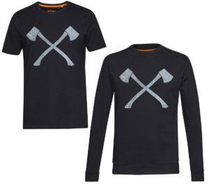 STIHL TIMBERSPORTS Crossed Axe Shirts