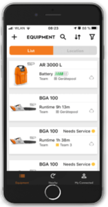STIHL Smart Connector App