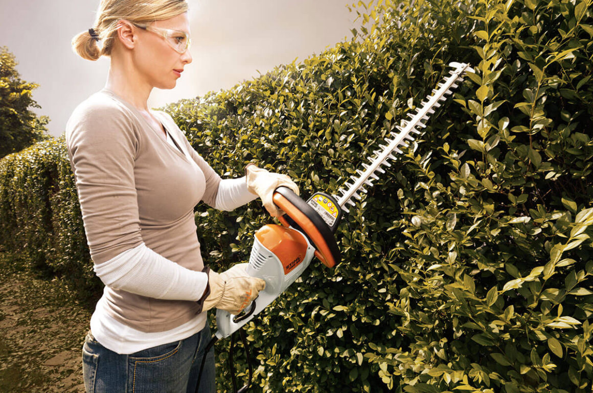 STIHL HSE hedge trimmer from the STIHL hedge trimmer selection