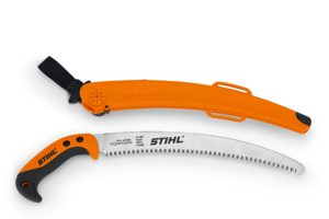 pruning saw with cover