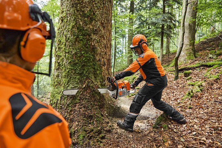 The MS 881 chainsaw