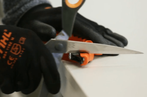 sharpening your blade