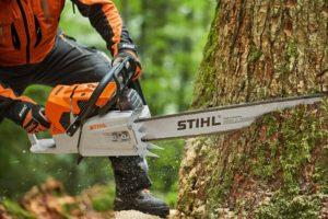 STIHL professional chainsaw