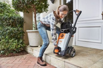 Storing your STIHL pressure washer