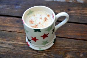 Winter posset christmas drink