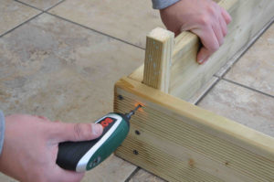 fasten decking using screws