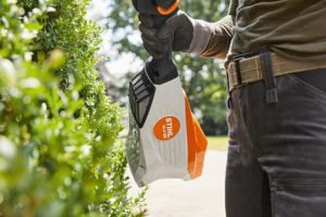 trim those hedges with your STIHL HLA 135 hedge trimmer