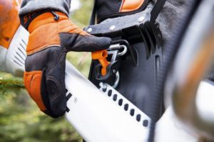 STIHL harness with tool hook